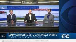 Fantasy Football Today: Week 2 [Video]
