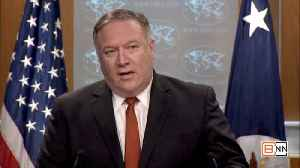Pompeo Delivers A Very Strong Threat Against Any Country Meddling In Our Elections [Video]