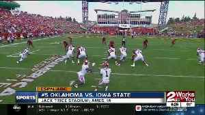 Oklahoma holds off Iowa State, 37-27 in Big 12 opener [Video]