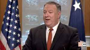Pompeo Warns Other Ex U.S. Officials Not To Engage With Iran [Video]