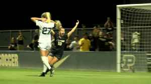 Purdue women's soccer plays to draw with Michigan State [Video]