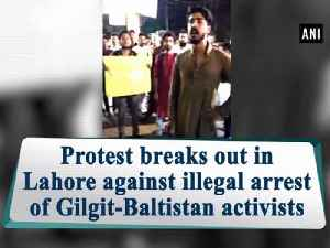 Protest breaks out in Lahore against illegal arrest of Gilgit-Baltistan activists [Video]