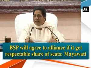BSP will agree to alliance if it get respectable share of seats: Mayawati [Video]