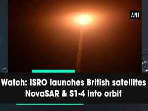 Watch: ISRO launches British satellites NovaSAR & S1-4 into orbit [Video]