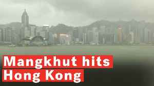 Typhoon Mangkhut Causes Severe Damage As It Batters Hong Kong [Video]