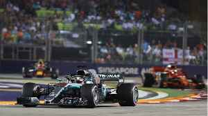 Lewis Hamilton Wins Singapore GP [Video]
