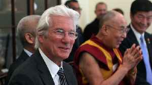 Richard Gere's Pregnant Wife Alejandra Gets Baby Blessed By The Dalai Lama [Video]