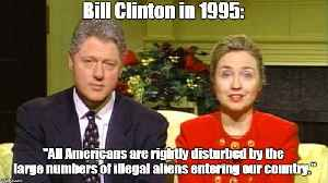 Bill Clinton: All Americans are rightly disturbed by illegal immigration [Video]