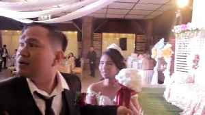 Wedding Interrupted By Typhoon Ompong [Video]