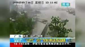 Southern China suffers damage and flooding as super typhoon approaches [Video]