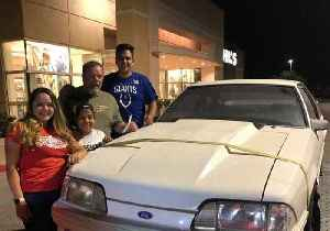 Texas Siblings Buy Dad's Old Mustang, Sold Years Earlier to Support Family [Video]