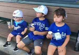 2-Year-Old With Spina Bifida Plays Baseball With KC Royals [Video]