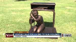 'Last Lockdown': Local students unveil statue, plan to address shootings and guns in school [Video]