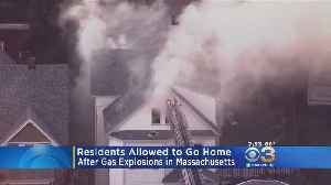 Residents Allowed To Return Home Following Gas Explosions In Massachusetts [Video]