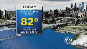Sunday Morning Weather Update: Sunny, Warm Day [Video]