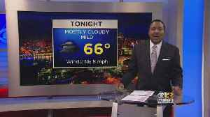 Meteorologist Tim Williams Has Your Sunday Evening Forecast [Video]
