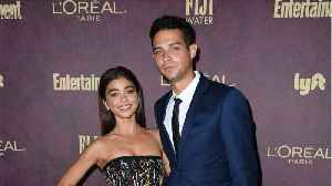 Sarah Hyland Celebrates Anniversary With 'Bachelorette' Star [Video]