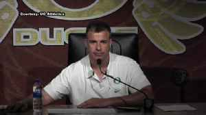 News video: Web Extra: Mario Cristobal after San Jose State part 1 (9/15/18)