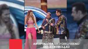 Anup Jalota And Girlfriend Jasleen Trolled [Video]