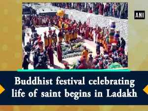 Buddhist festival celebrating life of saint begins in Ladakh [Video]
