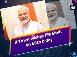 B-Town wishes PM Modi on 68th b'day [Video]