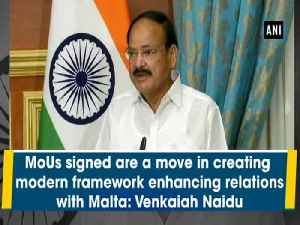 MoUs signed are a move in creating modern framework enhancing relations with Malta: Venkaiah Naidu [Video]