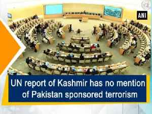 UN report of Kashmir has no mention of Pakistan sponsored terrorism [Video]