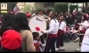 Pipers bring festive cheer to Jerusalem | FT World [Video]