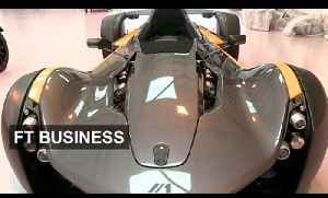 Liverpool's super fast luxury car   FT Business [Video]