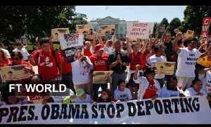 Protest over US immigration law [Video]