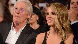 News video: Richard Gere And Wife Alejandra Silva Expecting Baby