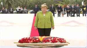 Merkel visits Algiers to enhance bilateral ties with the country [Video]