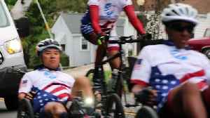 Wounded Warriors Cycle To Flight 93 Memorial [Video]