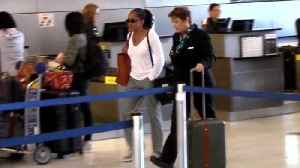 Meghan Markle's Mom Doria Seen at Airport on Her Way to See Royal Daughter [Video]