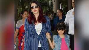 Aishwarya Rai Bachchan gets trolled again for holding Aaradhya Bachchan's hand | FilmiBeat [Video]