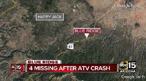 4 missing after ATV crash near Payson [Video]