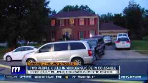 Two dead, three critically hurt in domestic murder-suicide in Colesville [Video]