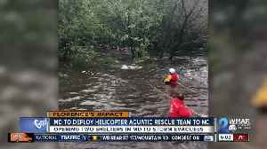 Maryland Helicopter Aquatic Rescue Team heading to North Carolina [Video]