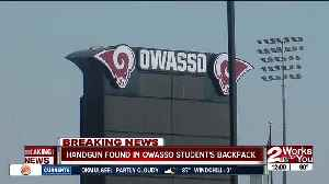 Loaded handgun found in Owasso student's backpack [Video]