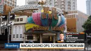Typhoon Mangkhut Hurts Macau Casino Operators [Video]