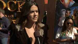 Lorenza Izzo Talks About Movie Chemistry On The Red Carpet [Video]