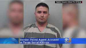 First Look At Border Patrol Agent Accused Of Being Serial Killer [Video]