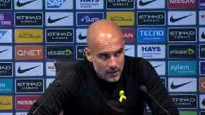 Pep: Aguero hurt ankle not knee [Video]