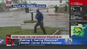 News video: Weather Channel Responds To Claims Reporter Was Faking Coverage Of Hurricane Florence