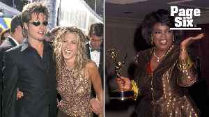 Brad and Jen's '90s style rocked the Emmys [Video]