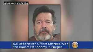 ICE Officer Arrested On Multiple Sodomy Charges, Oregon State Police Say [Video]
