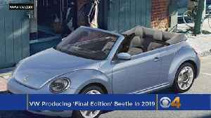 The Last Volkswagen Beetle Will Roll Off The Line Next Year [Video]