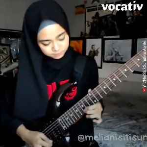 Watch this Hijab-Wearing Indonesian Guitarist Kill Heavy Metal Covers [Video]