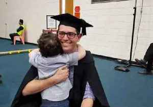 Adorable Toddler Cheers on Father as He Graduates College [Video]