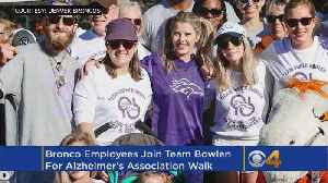 Denver Broncos Help Raise Record-Setting $115,00 For Alzheimer's Research [Video]